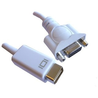 Professional Cable 6-Inch Mini-DVI to VGA Female Adapter (MDVI-VGA)