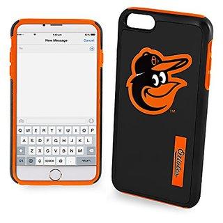MLB Baltimore Orioles IPhone 6 Plus Dual Hybrid Case (2 Piece), Black