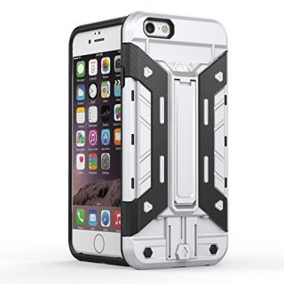 iPhone 6S Case,LITOYA Card Holder Heavy Duty Armor Shockproof Protection Case Cover for Apple iPhone 6S/ iPhone 6 with B