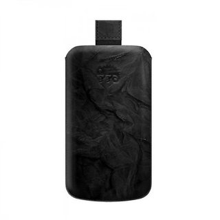 Katinkas Premium Leather Case for T-Mobile My Touch 4G Washed - Black - 1 Pack - Case - Retail Packaging