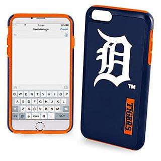 MLB Detroit Tigers IPhone 6 Plus Dual Hybrid Case (2 Piece), Blue