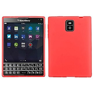 Zizo for BB Passport TPU Cover - Retail Packaging - Red