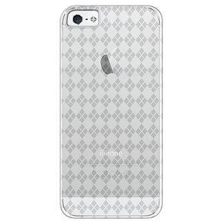 Katinkas USA 2108047139 Soft Cover for iPhone 5 - Checker - 1 Pack - Retail Packaging - Clear