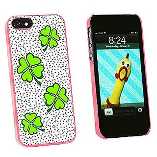 Graphics and More Lots of Luck Lucky Irish Four Leaf Clover Snap-On Hard Protective Case for iPhone 5/5s - Non-Retail Pa