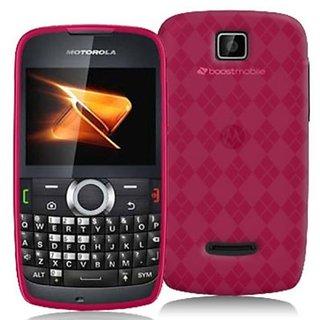 DECORO CSMOTWX430HPCK Premium Crystal Skin Case with Checker Texture for Motorola WX430/Theory - 1 Pack - Retail Packagi