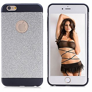 iPhone 6 Plus Case, YAKAON High Quality Luxury Hybrid TPU Shiny Bling Sparkling with Crystal Rhinestone Cover Case for i