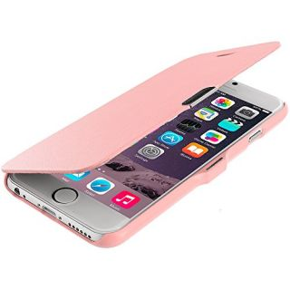 Accessory Planet(TM) Light Pink Magnetic Closing Wallet Pouch Case Cover Accessory for Apple iPhone 6 Plus (5.5)