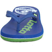 Lotto Blue and Green Flipflops