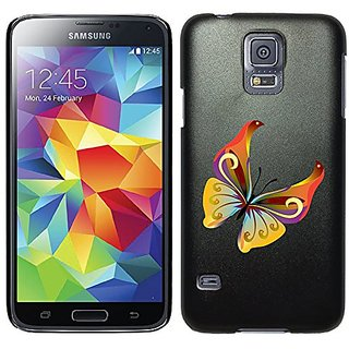 Coveroo Thinshield Cell Phone Case for Samsung Galaxy S5 - Butterfly Multicolor