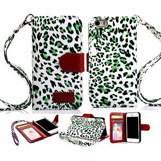 5s case,iPhone 5 Case,iphone 5s cover, iPhone 5S cases,Leopardcases PU Wallet Leather case iPhone 5 case cover for iPhon