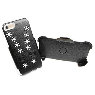 MyBat Carrying Case for Apple iPhone 6S/6 - Retail Packaging - White Snowflake