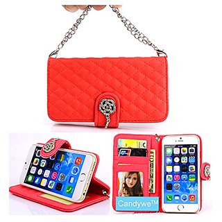 iPhone 6 Case,iPhone 6 Red Leather,Candywe#01 Case for iPhone 6 (4.7),iPhone 6 leather,iPhone 6 leather case,iPhone 6 Be