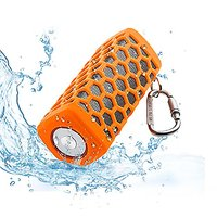 Portable Hi-fi Wireless Bluetooth Speaker Waterproof With Power Bank, Built-in 7000mAh Rechargeable Battery, 20 Hours Pl