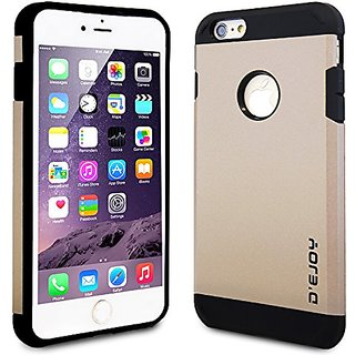 DeJoy™ iPhone 6 Plus Case Dual-Armor Series Double Layer Full Body Protection Anti-Scratch Maximum Protection - Go