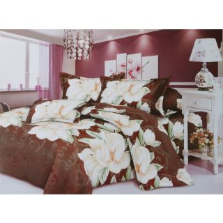 Bhumija 3D Polyester Double Bedsheet with 2 Pillow