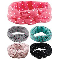 Qandsweet Baby Girl Newest Turban Headband Head Wrap Kn