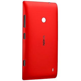 Nokia Back Cover for Nokia Lumia 520, 525 (Red)