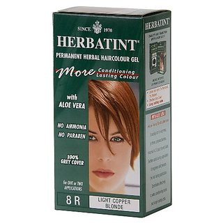Herbatint Hair Color, 8R Light Copper Blonde, 4 Fluid Ounce