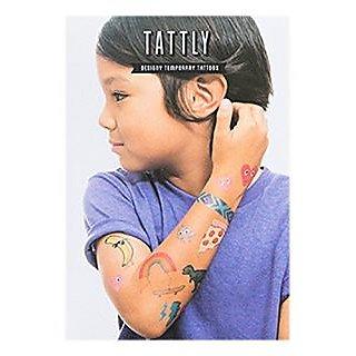Tattly Temporary Tattoos Kids Mix, 1 Ounce