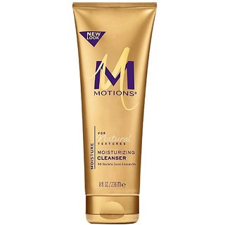 Motions Natural Textures Moisturizing Cleanser, With Shea Butter, Coconut and Avocado Oils 8 oz