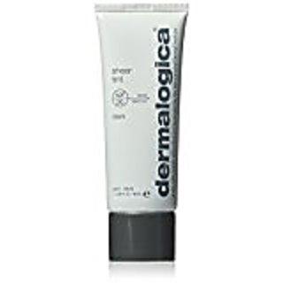 Dermalogica Sheer Tint Moisture SPF 20, Dark, 1.3 Fluid Ounce Intensive 24 Hour Facial Moisturizer - 1.69 fl. oz. by Bulldog Natural Skincare (pack of 2)