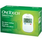 OneTouch Simple Select Glucometer With 10 Strips Glucometer Simpleselect