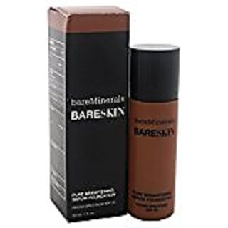 bareMinerals Pure Brightening Serum SPF 20 All Skin Types Bare Mocha 20 Foundation for Women, 1 Ounce