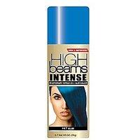 high beams Intense Temporary Spray on Hair Color, Headbangin Blue #47, 2.7 Ounce