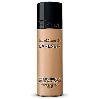 Bare Minerals BareSkin Pure Serum Foundation Broad Spectrum SPF 20 Bare Beige 08 1.0 oz