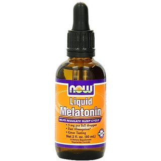 NOW Foods Liquid Melatonin, 2-Fluid Ounces