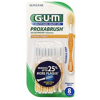 G-U-M Proxabrush Go-Betweens Cleaners, Ultra Tight, 8 ea