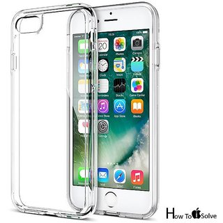 Iphone 7 transperent back cover