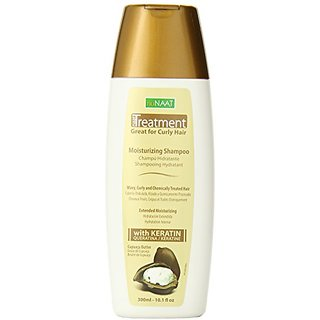 Nunaat Naat Treatment Shampoo, Cupuacu/Keratin, 10.1 Ounce