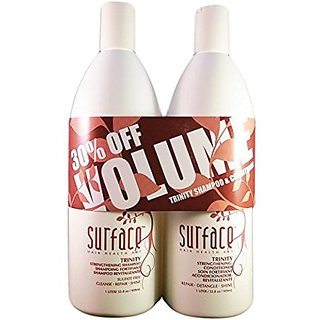 Surface Trinity Strengthening Shampoo & Conditioner Duo 33.8 Oz.