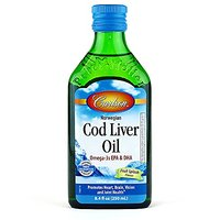 Carlson Labs Cod Liver Oil Liquid, Fruit Splash Flavor,