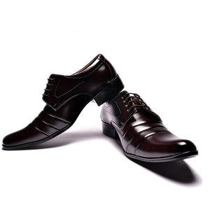 Sir Corbett Stylish Men's Brown Formal Shoes - Option 4