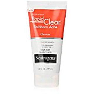 Neutrogena Rapid Clear Stubborn Acne Cleanser, 5 Ounce