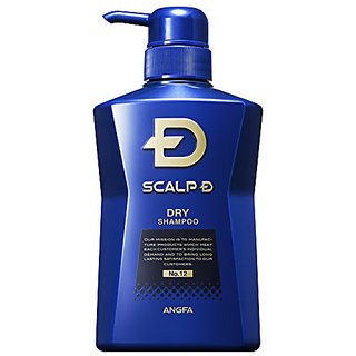 Scalp D Medical Hairgrowth Shampoo for Men 2016 (Dry Skin type) 350mL (11.83fl oz) (Japan Import)