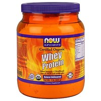 Now Foods Organic Whey Protein, Natural Unflavored 1 Po