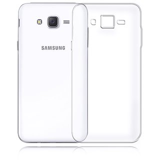 Transparent Back Cover For Samsung Galaxy J5 Mobiles