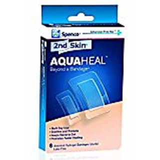 Spenco AquaHeal-Mixed Pack (3 Large/ 3 Small)