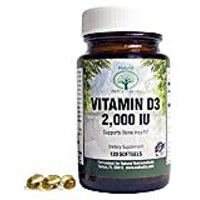 Natural Nutra Vitamin D3 Supplement, 2000 IU, 100 Softg