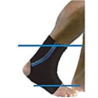 Rehband Core Line Ankle Support Receptor X-Stable (X-Small)