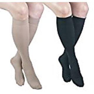 ITA-MED I H-304(2) XXL BBL Microfiber Knee Highs, Mixed Colors, XX-Large