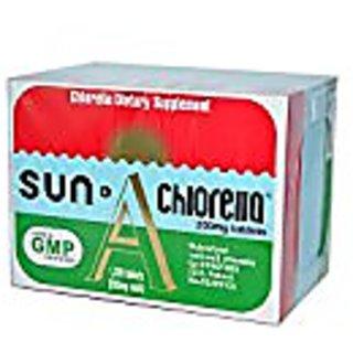 SUN CHLORELLA SUN CHLORELLA,200 MG, 300 TAB