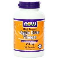 Now Foods Apple Cider Vinegar, 450 Mg Capsules, 180-Cou