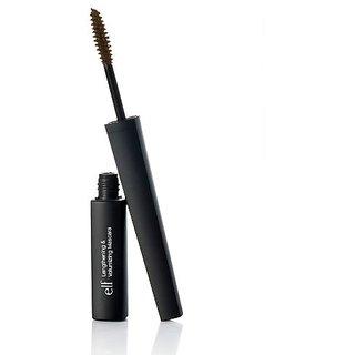 e.l.f. Lengthening and Volumizing Mascara, Black Brown, 0.3 Ounce
