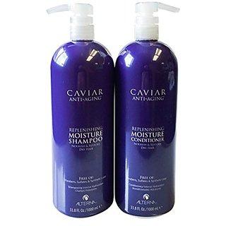 Alterna Caviar Replenishing Moisture Shampoo and Conditioner DUO 33.8 Fl. Oz.