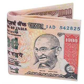 1000 rupees Note Wallet