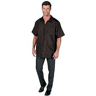 Betty Dain Nylon Barber Jacket, 894 5X Black